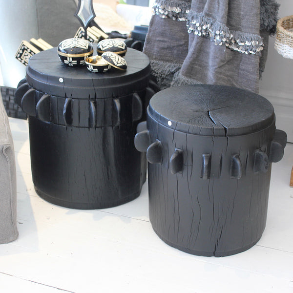 Sugar Grinder Side Tables