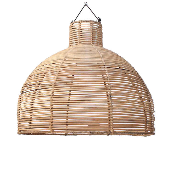 Rattan Dome Pendants