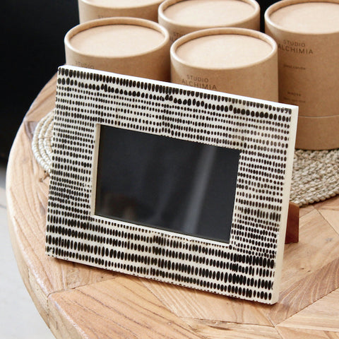 Askari Bone Inlay Photo Frame