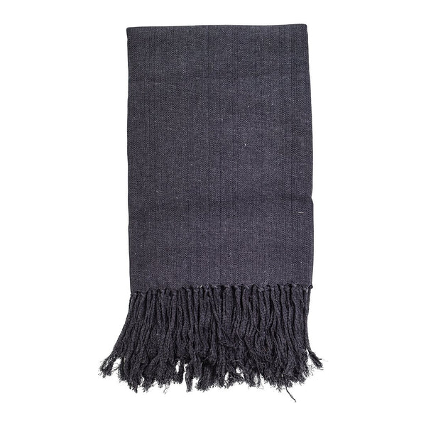 Inca Throw - Charcoal