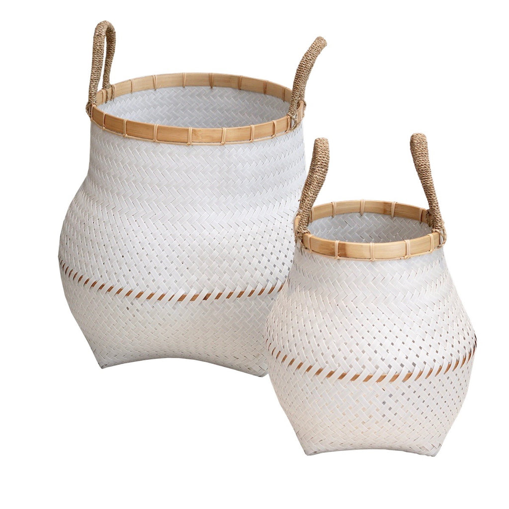 Nadora Baskets - White