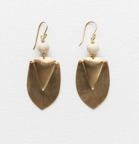 Klaylife Nandi Earrings - Gold
