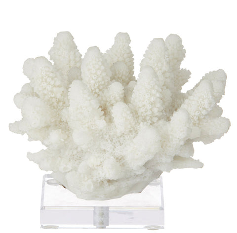 Polyresin Coral on Stand