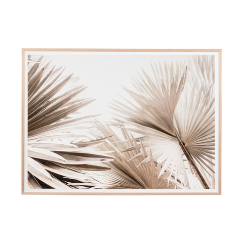 Natural Palm Landscape Print