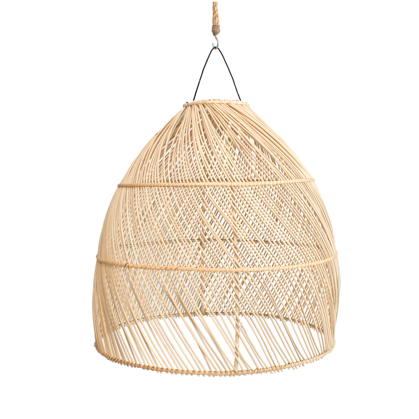 Rattan Dome Pendant II - Medium