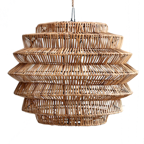 Rattan Hive Pendant - Medium - Natural