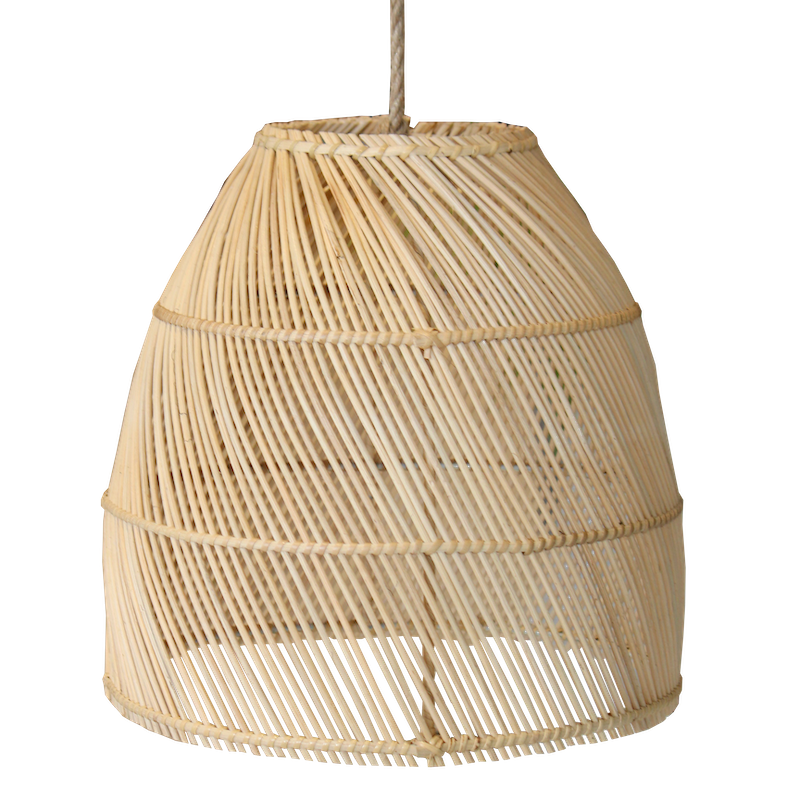 Rattan Dome Pendant II - Natural