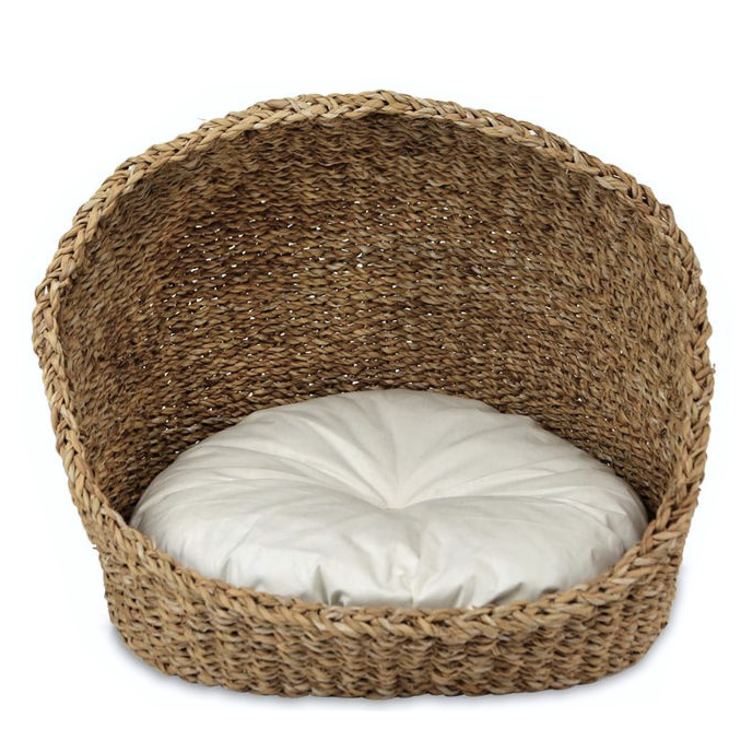 Seagrass Pet Basket