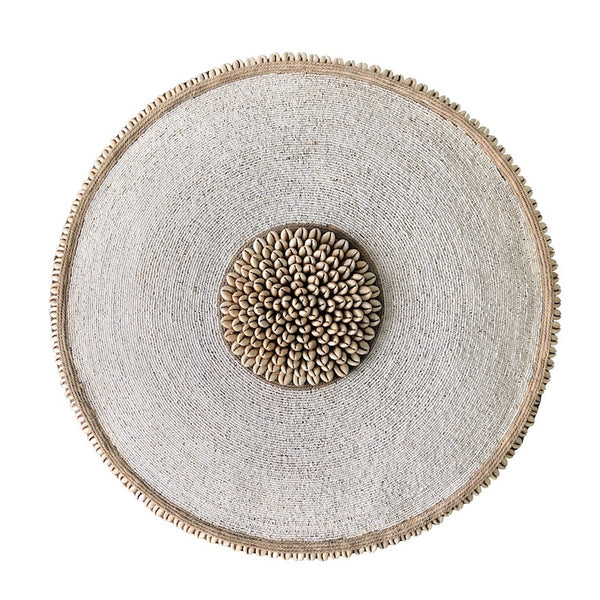 African Beaded Shield - XLarge