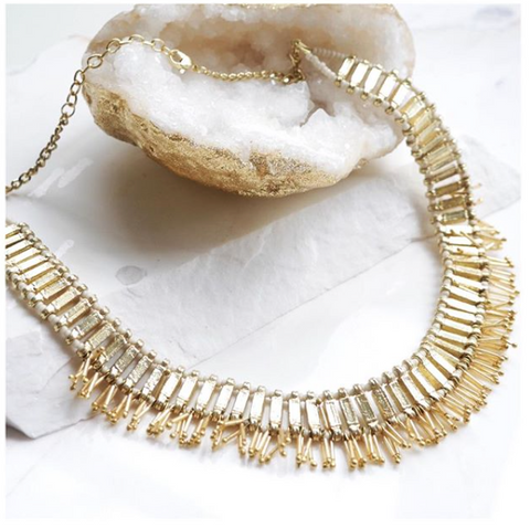 Delani Necklace - Gold