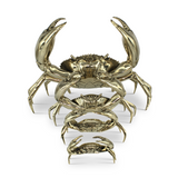 Mr Pinchy Brass Crabs