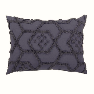 Delani Pillowcase Set - Dark Grey