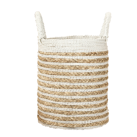 Seagrass Stripe Basket