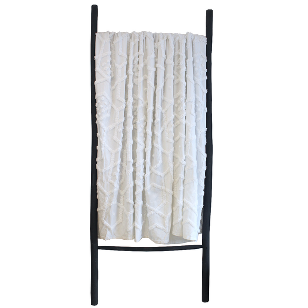 Delani Tufted Throw Blanket - White