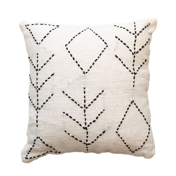 Tuma Cushion - White