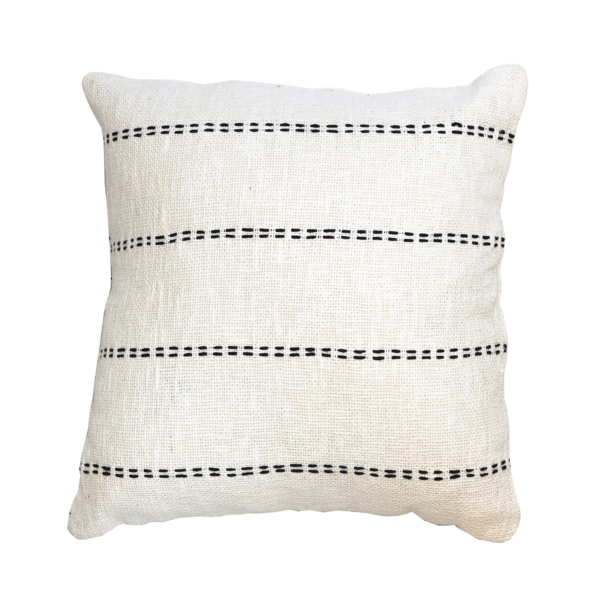 Lulu Cushion - White