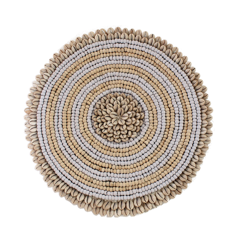 Round Beaded Wall Hanging