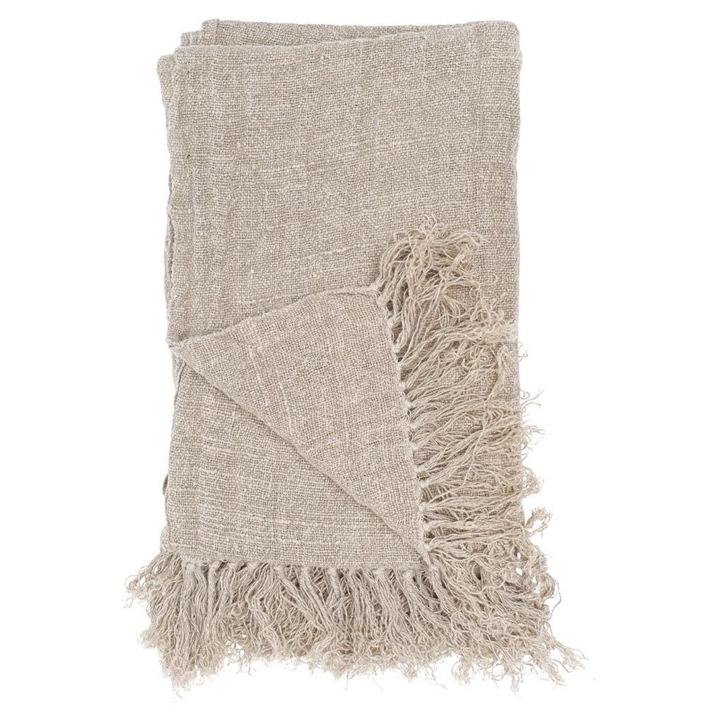 Bedouin Linen Throw