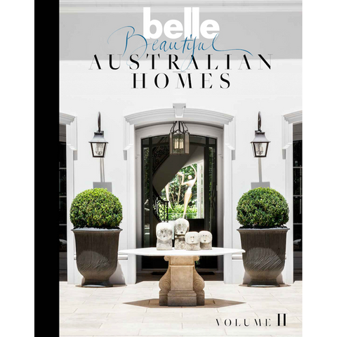 Belle Beautiful Australian Homes Volume II Coffee Table Book