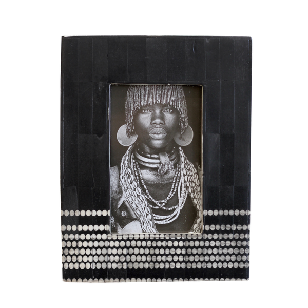 Nuru Photo Frame - Black