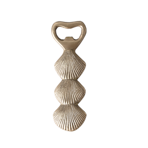 Brass Clam Bottle Opener