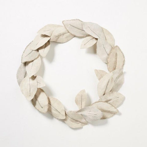 Bedouin Canvas Wreath