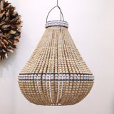 Contrast Beaded Chandelier - Large