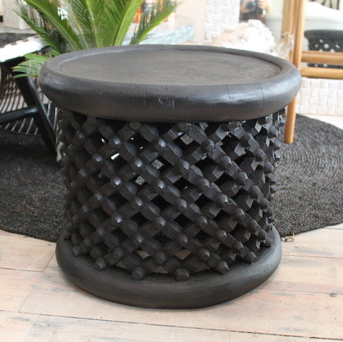 Bamileke Table - Black