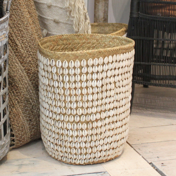 Cowrie Shell Basket