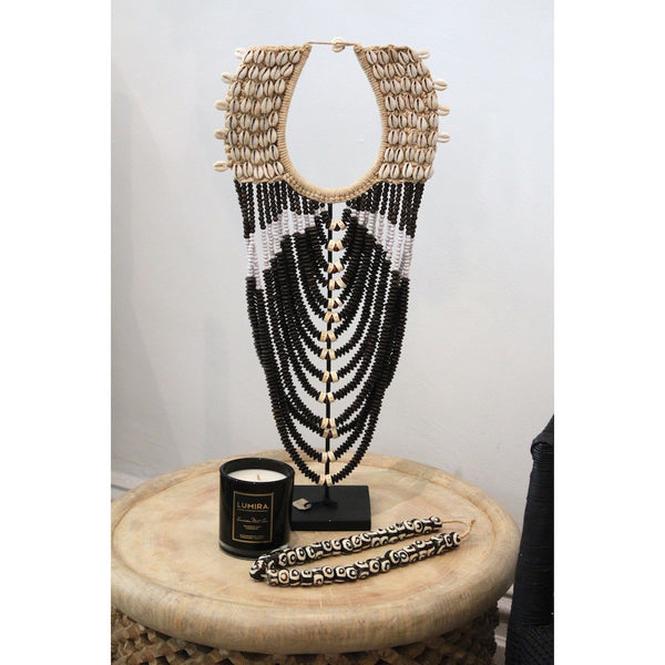 Tribal Beaded Neckpiece