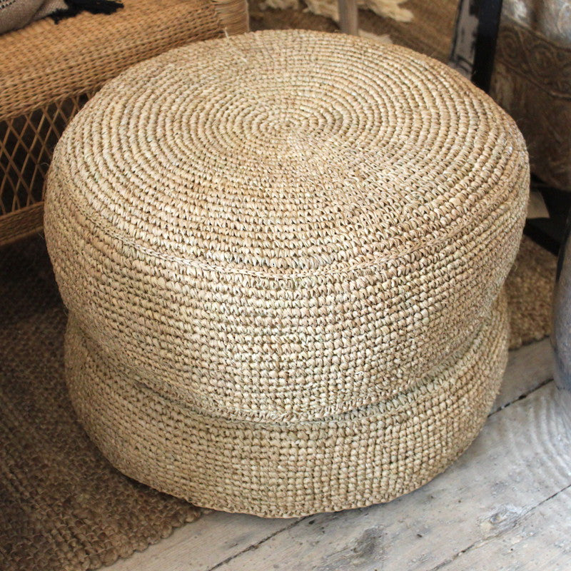 Seagrass Pouffes - Natural