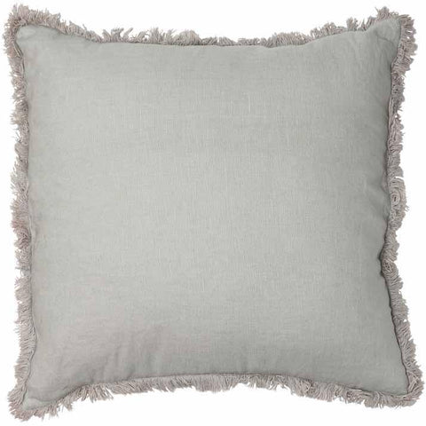 Luca Boho Cushion - Silver Grey