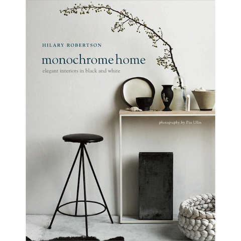 Monochrome Living Coffee Table Book
