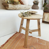 Antique Elm Tea Table