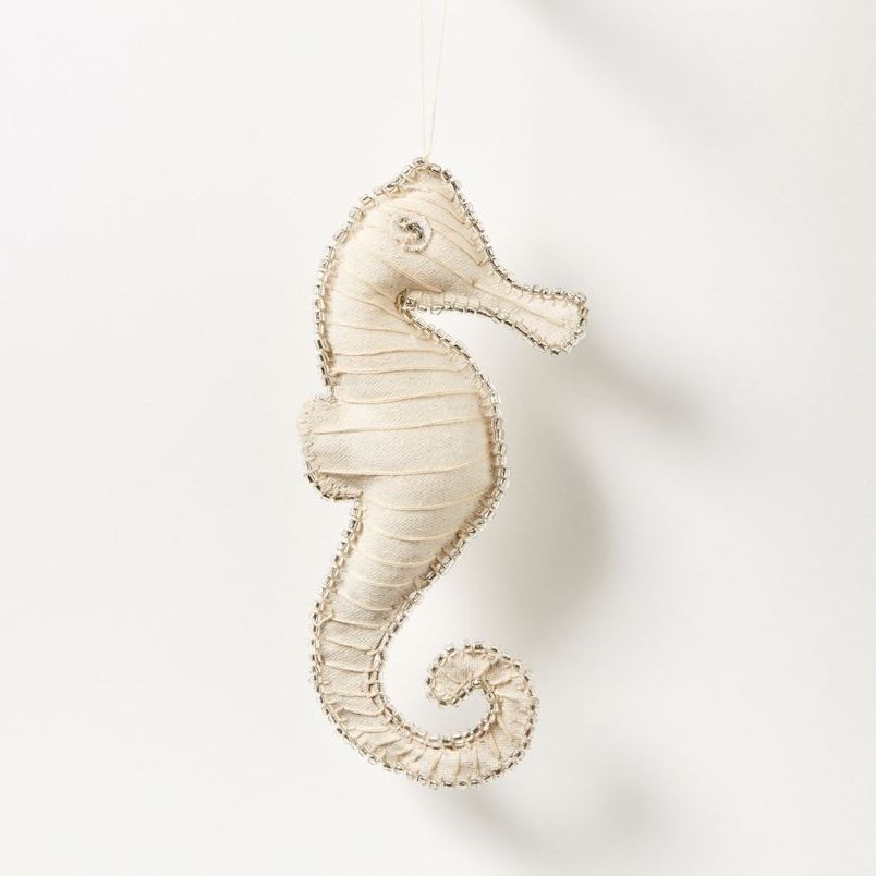 Bedouin Hanging Seahorse Xmas Tree Decoration