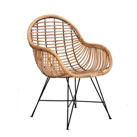 Rattan Arm Chair - Natural
