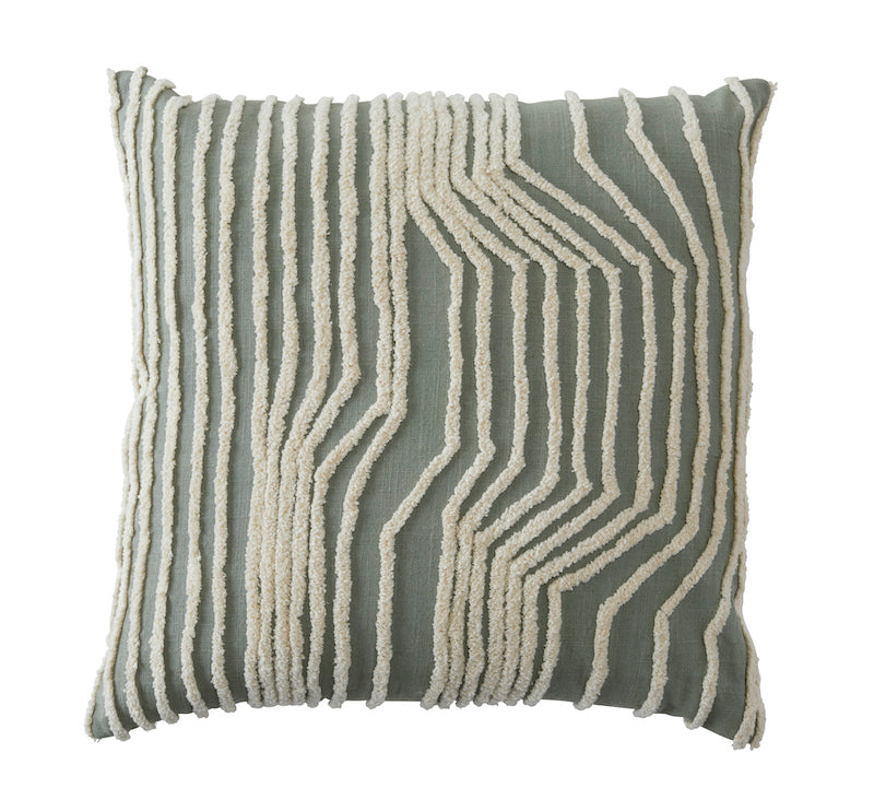 Sage Tufted Cushion
