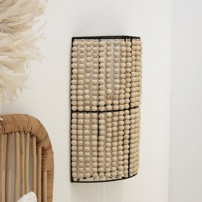 Beaded Wall Sconce