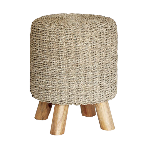 Seagrass Stool - Natural