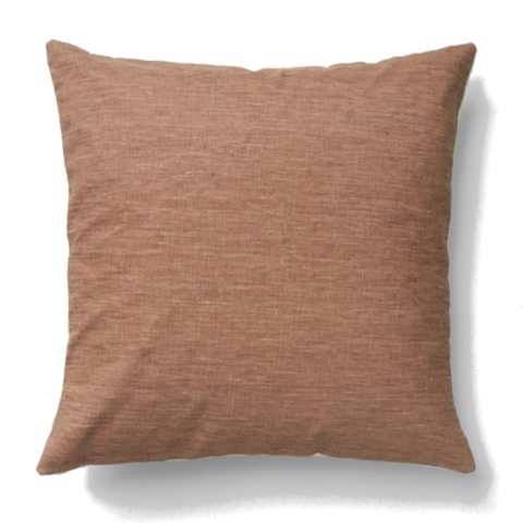Teta Linen Cushion - Terracotta