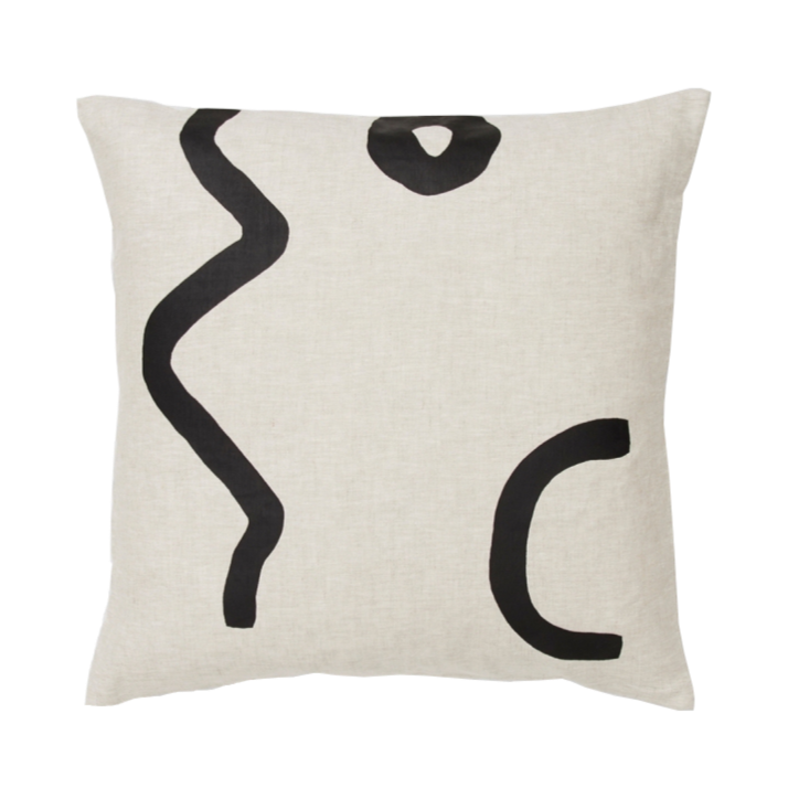 Sunday Cushion - Black