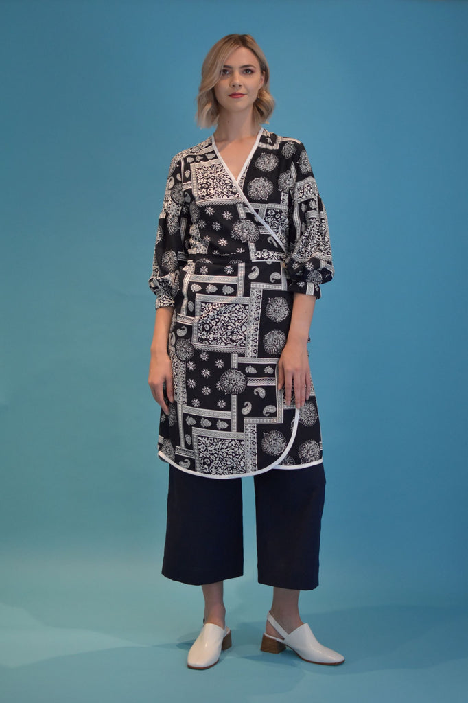 Wise Wrap Dress - Simone
