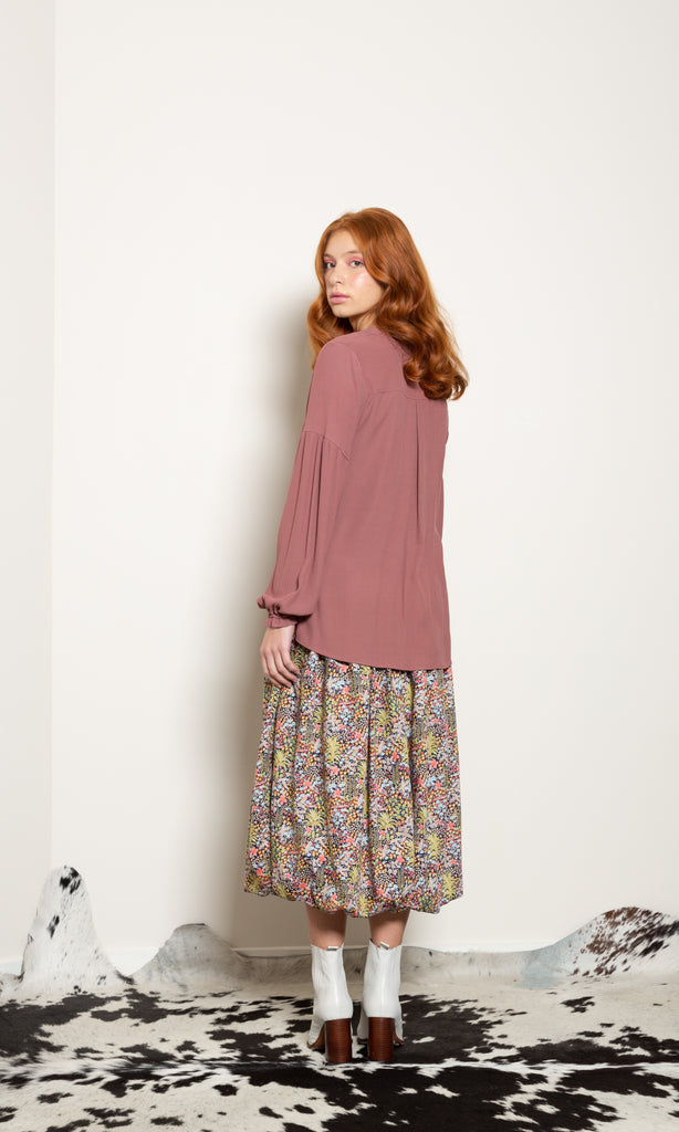 Twister Top - Viscose Crepe