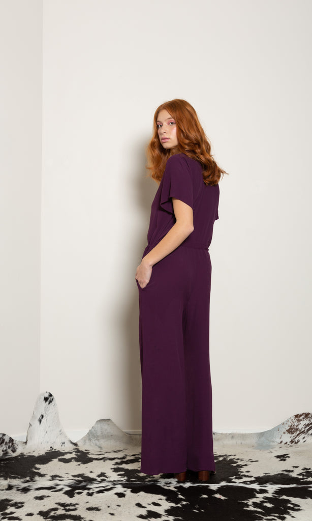 Blue Sky Jumpsuit - Viscose Crepe
