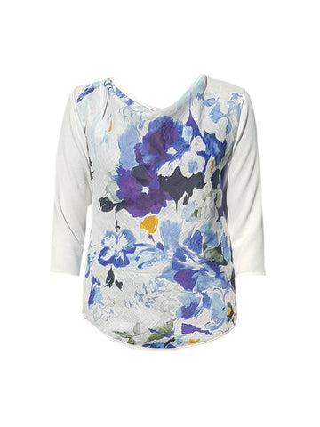 Focus Top - Printed Voile