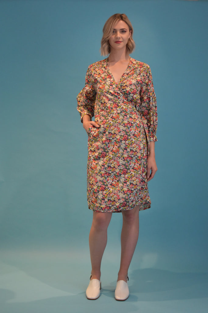 Wise Wrap Dress - Liberty Print