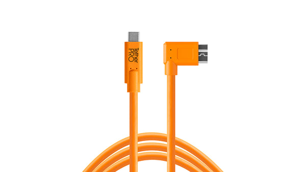 TetherPro USB-C to 3.0 Micro-B Right Angle
