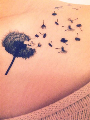 Dandelion-temporary-tattoo
