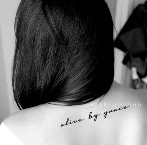 alive-live-by-grace-quote-temporary-tattoo