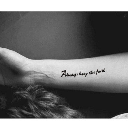 always-keep-the-faith-temporary-tattoo